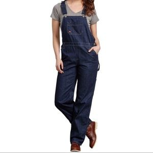 Dickies women's Indigo Overall Jeans